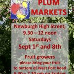Newburgh plum markets announced